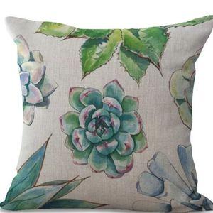 "🌵Pillow case 18"" Cotton Linen Cushions Cover"